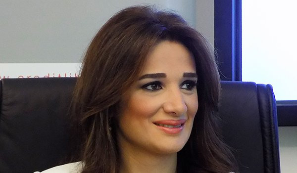 At work with Grace Salameh Azoury