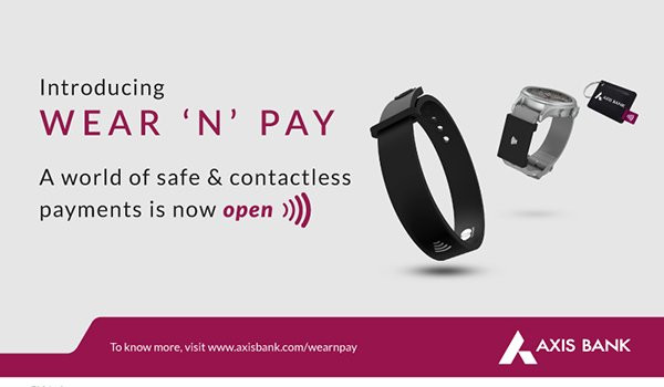 Axis Bank launches Wear 'N' Pay, a range of new age payment solutions