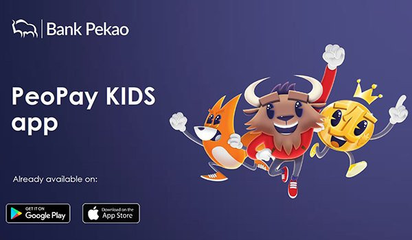 Bank Pekao introduces impressive new application for kids