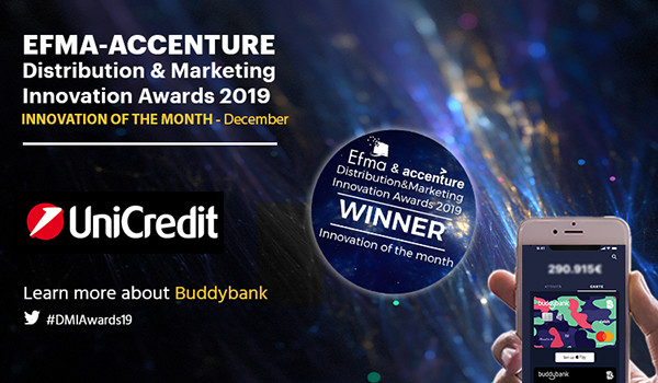 Banking innovation of the month: buddybank by UniCredit Group