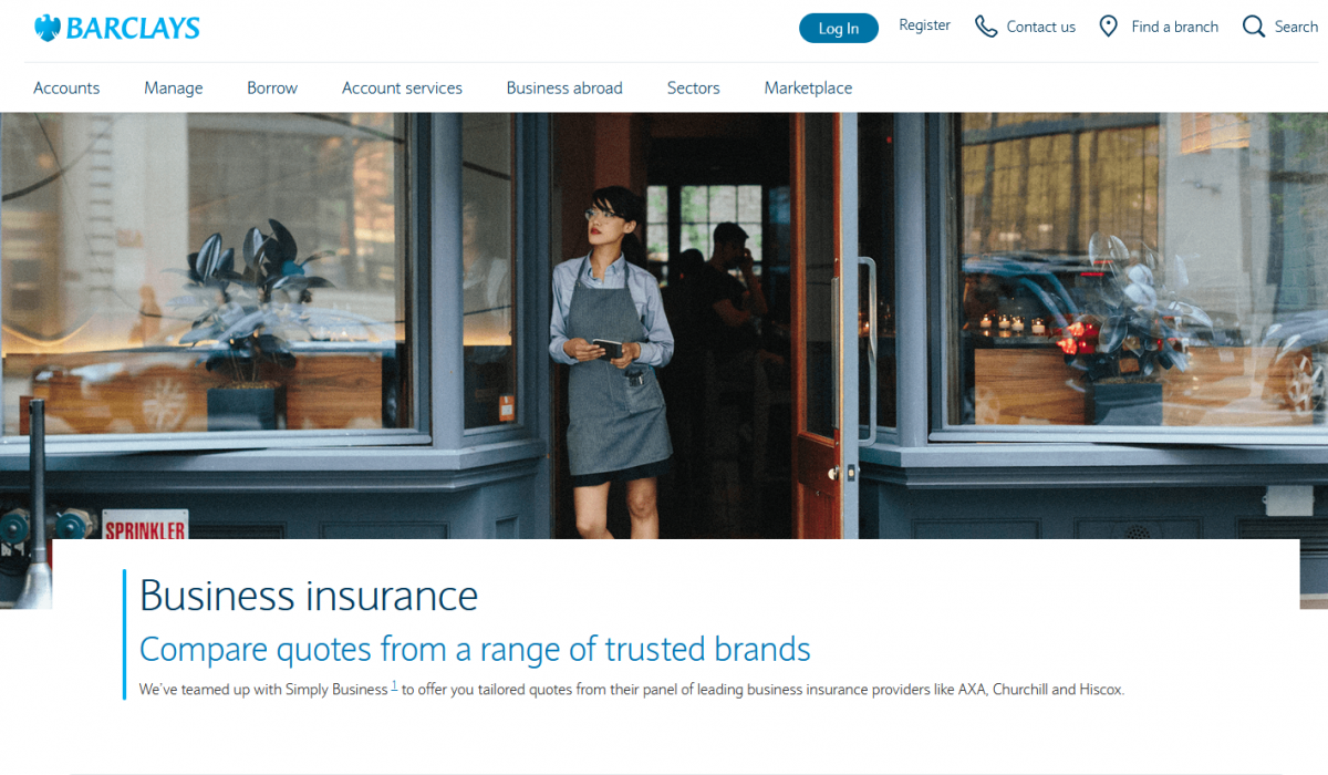 Barclays partners with Simply Business to provide small businesses with quick and easy access to a panel of insurance providers