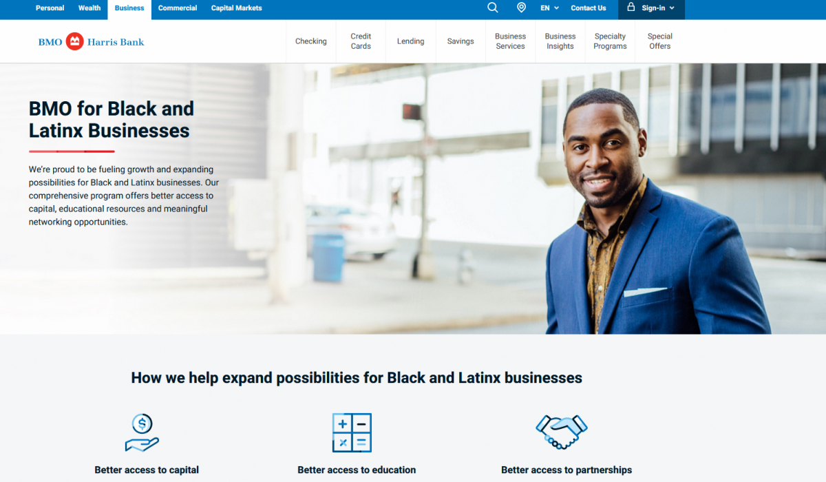 BMO Harris expands its BMO for Black and Latinx Small Business Program across its full footprint