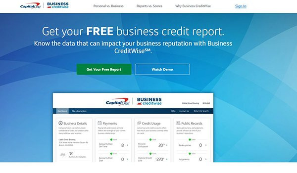 Capital One launches Business CreditWise