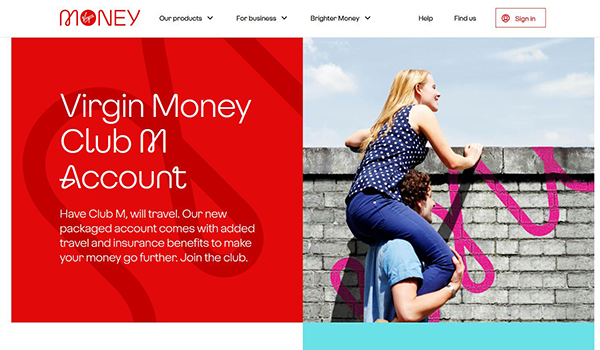 Virgin Money launched a packaged current account which offers worldwide family insurance
