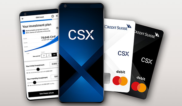 Credit Suisse to launch the new CSX digital banking offering