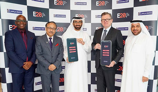 Emirates NBD unveils E20., UAE's first digital business bank