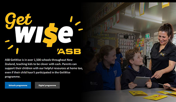 ASB helps a million Kiwi kids get cash clever with ASB GetWise