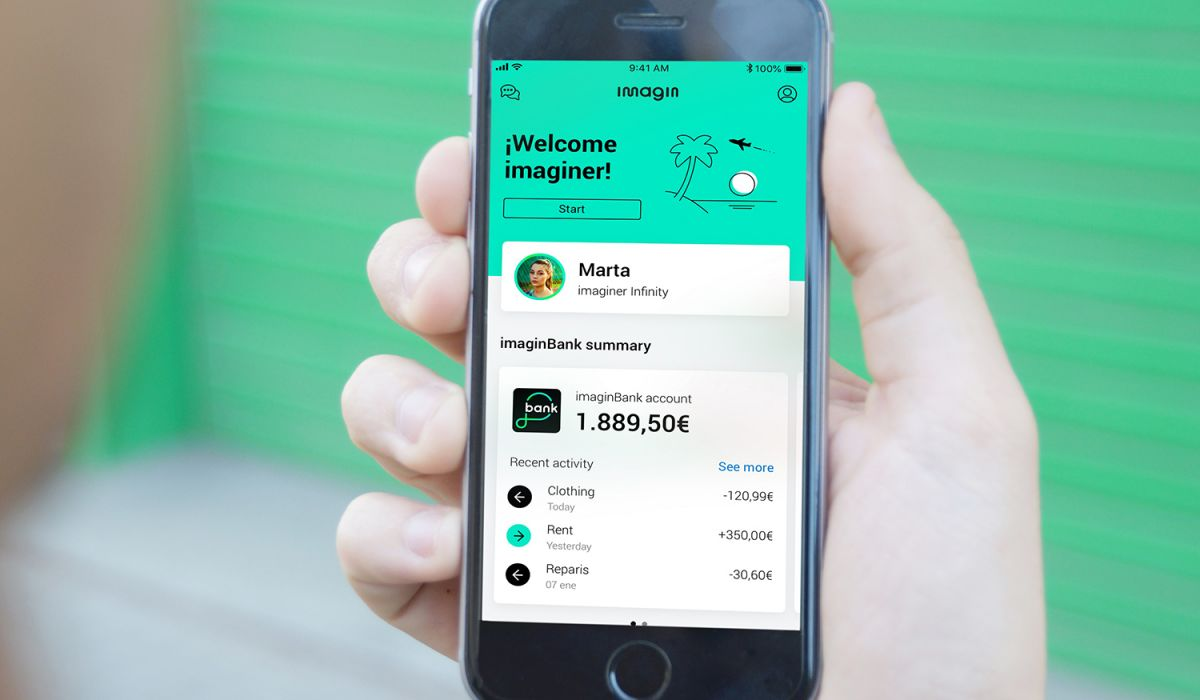 imagin grows 20% in new users and consolidates its leadership among neobanks in Spain
