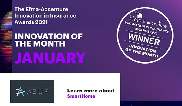 Insurance Innovation of the Month: SmartHome by Azur Group
