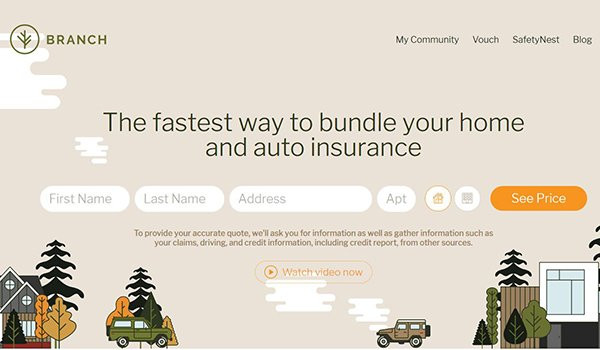 Insurtech startup Branch launches innovative new program to lower the cost of insurance