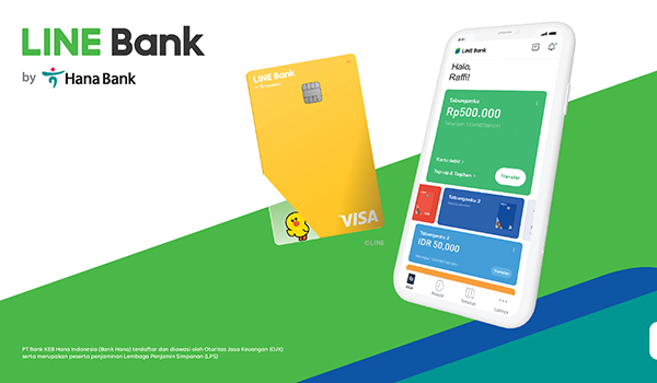 LINE and PT Bank KEB Hana Indonesia Launch LINE Bank in Indonesia