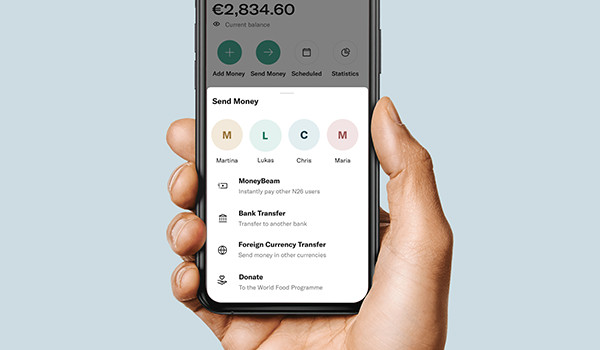N26 introduces new donation functionality for year-end campaign with Mastercard, in support of the World Food Programme