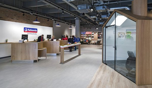 Nationwide banks on humanity, openness and connectivity with a new store