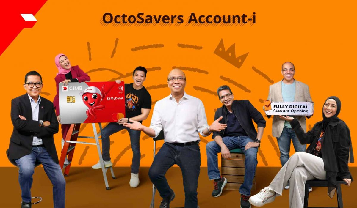 CIMB introduces OctoSavers, its first fully-digital Islamic savings account through e-KYC for new customers