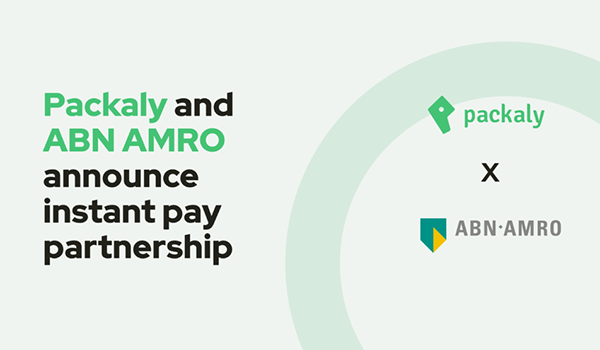Packaly and ABN AMRO announce a partnership for instant pay to riders