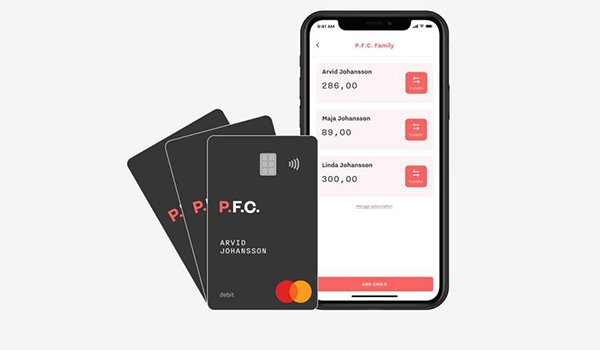 P.F.C. launches a children's spending card