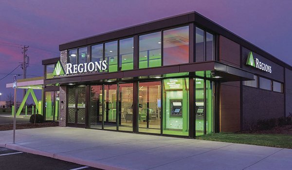 Regions Bank is opening new innovative branches