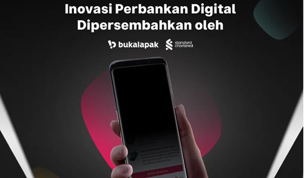 Standard Chartered Bank Indonesia and Bukalapak are launching a new application for digital mobile banking service