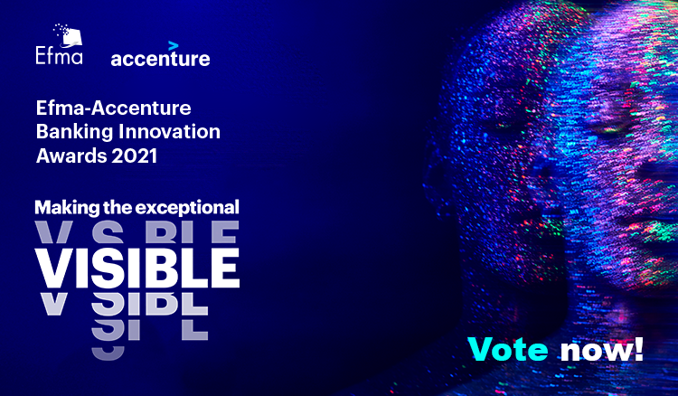 Voting opens for 2021 Efma-Accenture Banking Innovation Awards