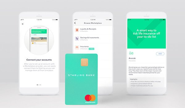 Starling Bank and Anorak team up