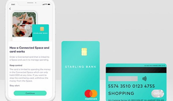Starling Bank delivers connected cards to be given to trusted helpers