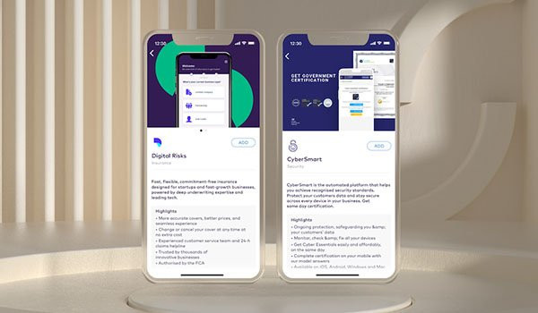 Starling Bank expands its business Marketplace with new partners Digital Risks and CyberSmart