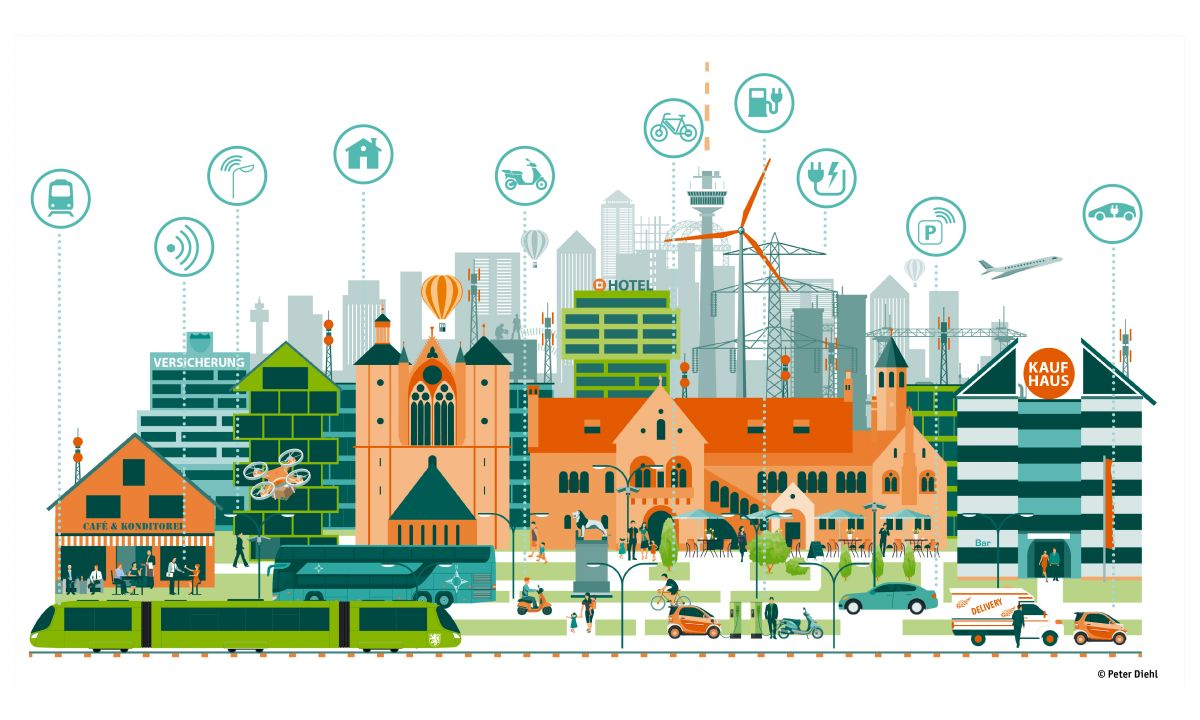 """Digital urban development: Thüga now a member of the """"City Possible"""" network and launching joint smart city projects with Mastercard"""