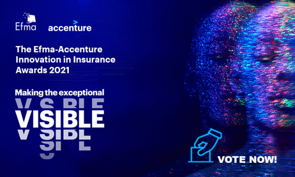 Vote now in the 2021 Efma-Accenture Innovation in Insurance Awards