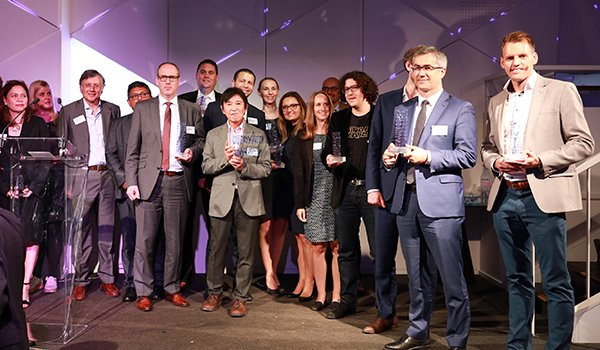 Who are the first nominees for the 2019 Efma Accenture Innovation in Insurance Awards?