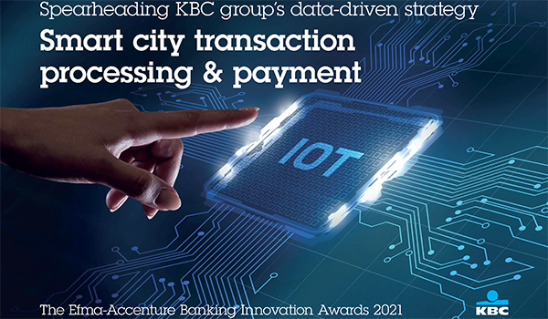 Spearheading KBC group's data-driven strategy: Smart city transaction processing & payment