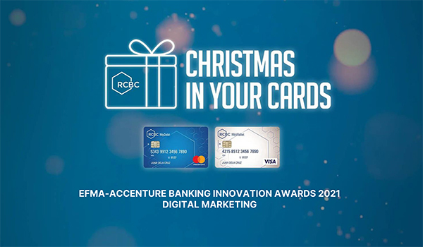 Rizal Commercial Banking Corporation (RCBC): Christmas In Your Cards Campaign