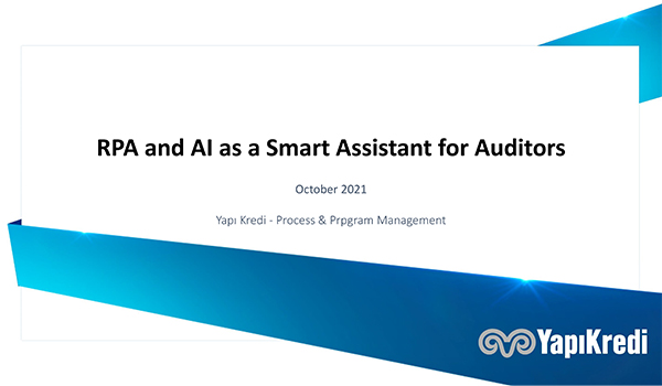 Yapi Kredi: RPA and AI as a smart assistant for auditors