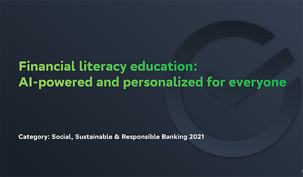 Sber: Financial literacy education - AI-powered and personalized for everyone