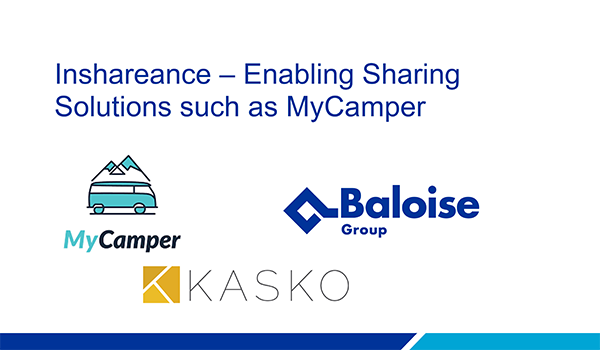 Baloise & Kasko: Inshareance – Enabling Sharing Solutions such as MyCamper