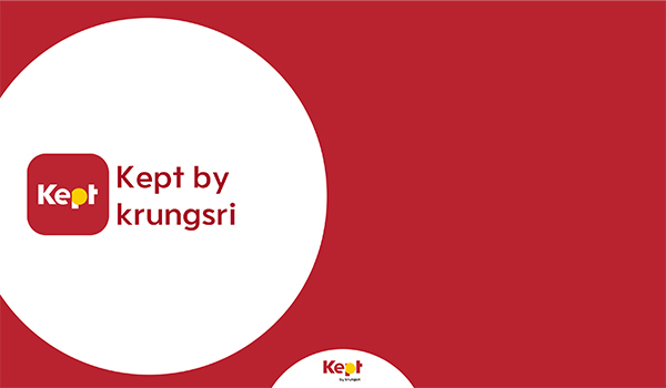 Kept by Krungsri, gamification for saving money