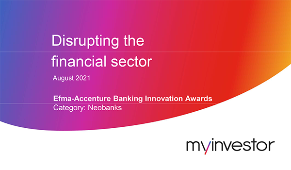 My Investor: Disrupting the financial sector