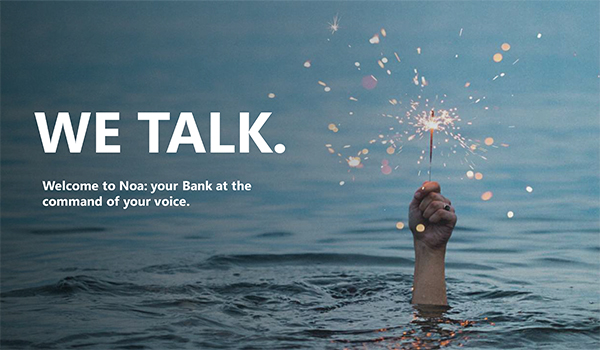CaixaBank: Welcome to Noa: your Bank at the command of your voice