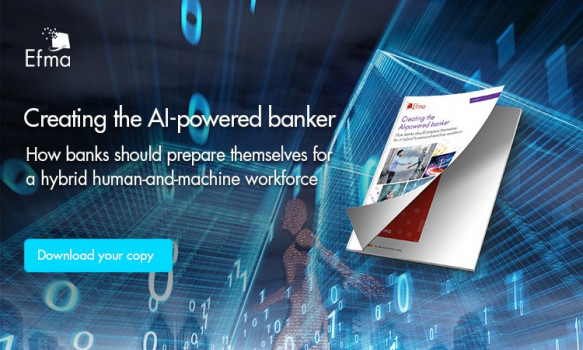 Creating the AI-powered banker: How banks should prepare themselves for a hybrid human-and-machine workforce