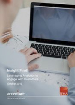 Insight first! Leveraging analytics to engage with customers